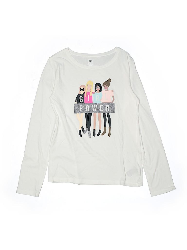 Gap Kids Girls Long Sleeve T-Shirt Size XX-Large youth