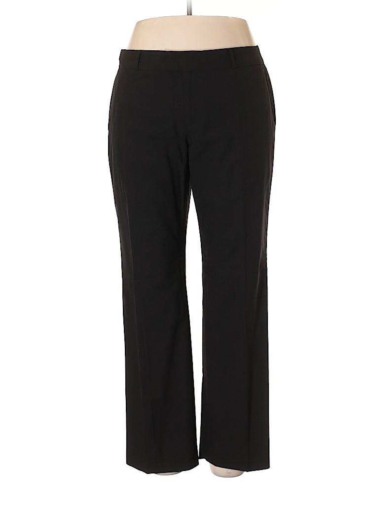 Banana Republic Women Wool Pants Size 14 (Petite)