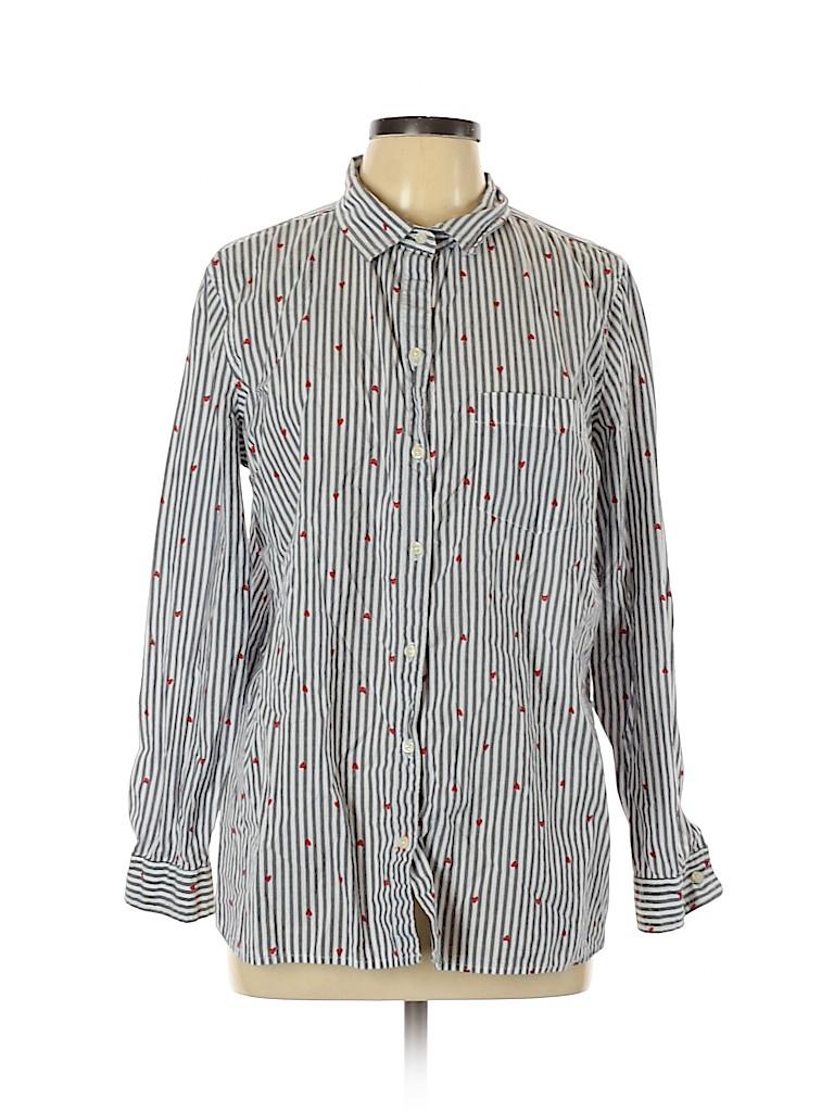 Old Navy Women Long Sleeve Button-Down Shirt Size XL