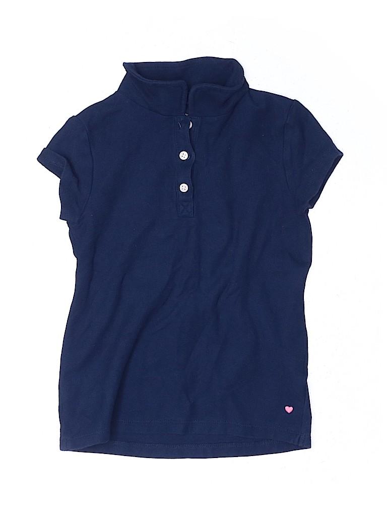 Carter's Girls Short Sleeve Polo Size 7