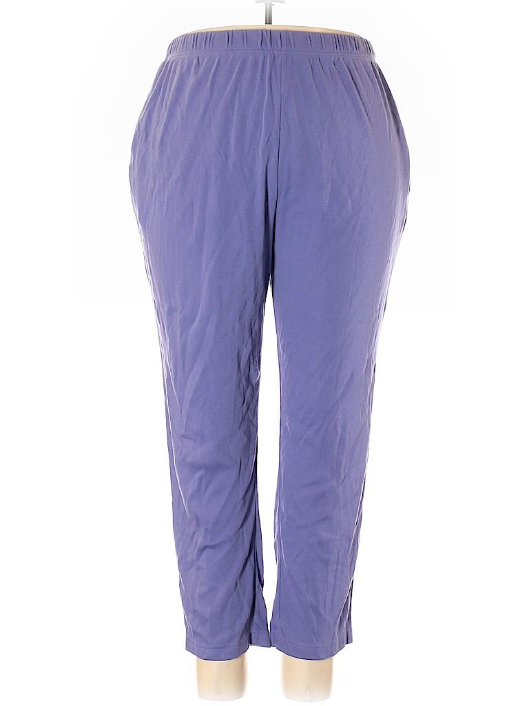 Only Necessities Women Sweatpants Size 2X (Plus)