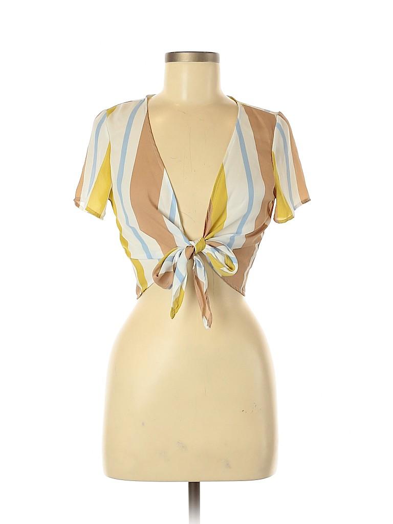 Assorted Brands Women Short Sleeve Top Size M