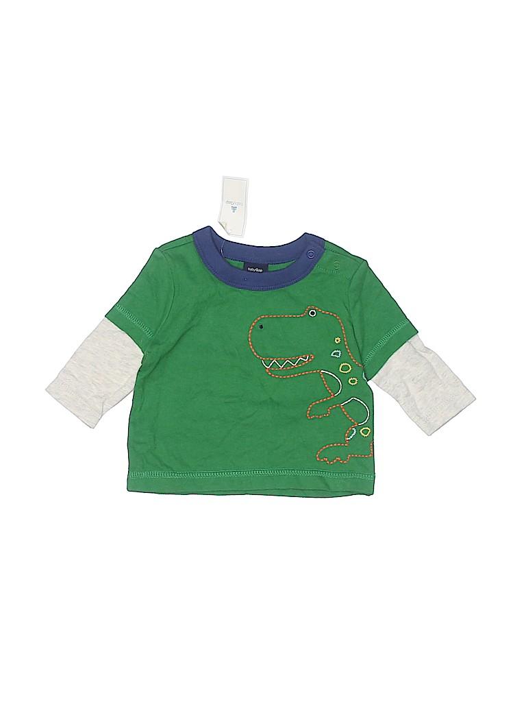 Baby Gap Boys 3/4 Sleeve T-Shirt Size 0-3 mo
