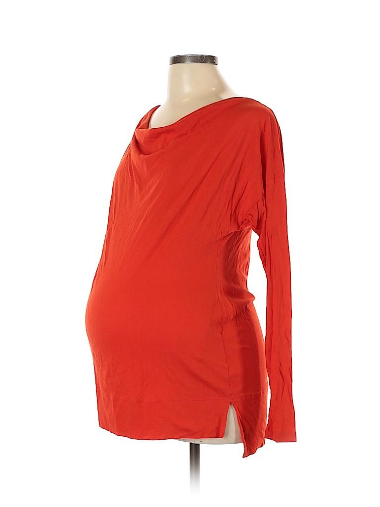 Gap - Maternity Women Long Sleeve Top Size L (Maternity)