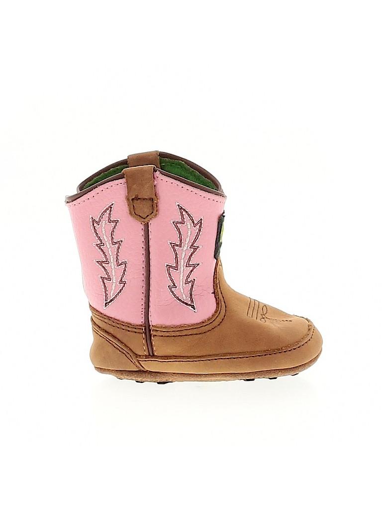 John Deere Girls Ankle Boots Size 2