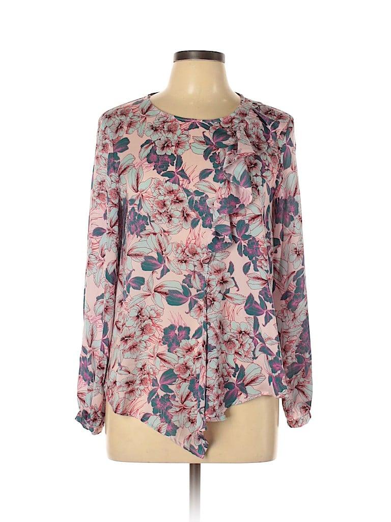 Topshop Women Long Sleeve Blouse Size 8