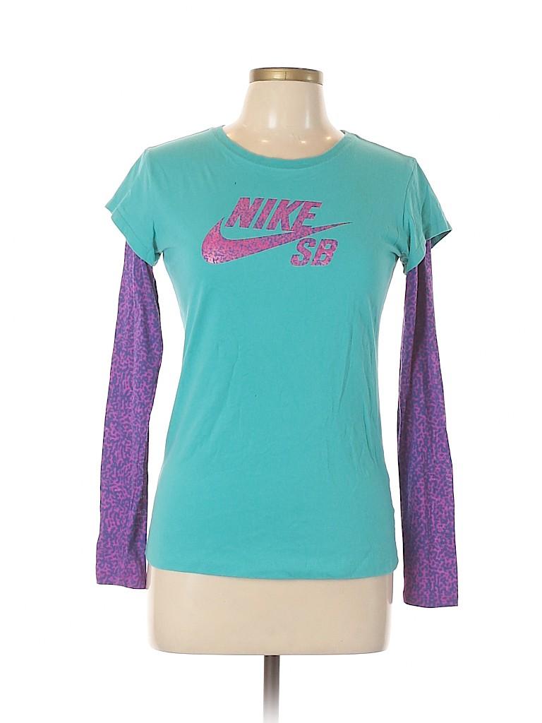 Nike Women Long Sleeve T-Shirt Size XL