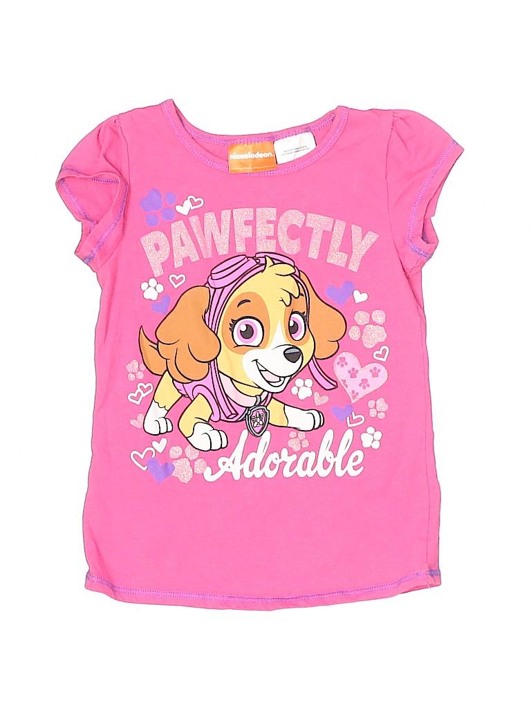 Nickelodeon Girls Short Sleeve T-Shirt Size 4T