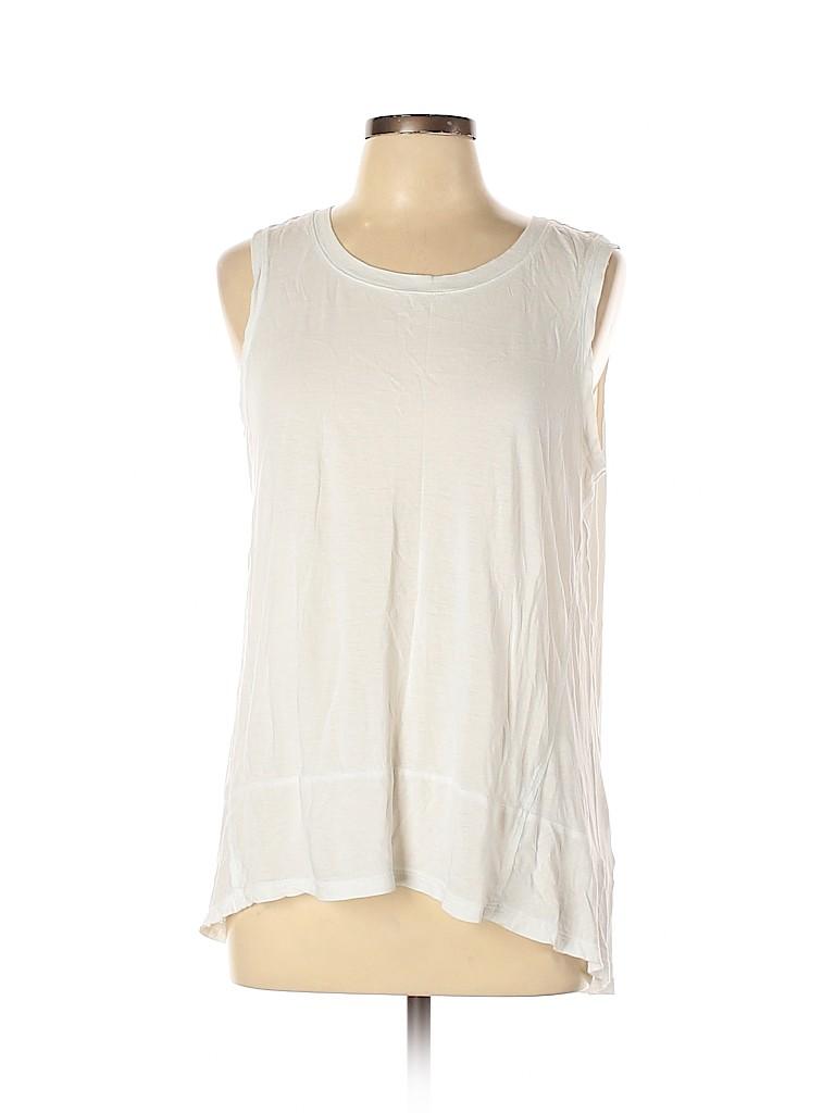 Adrienne Vittadini Women Sleeveless T-Shirt Size L