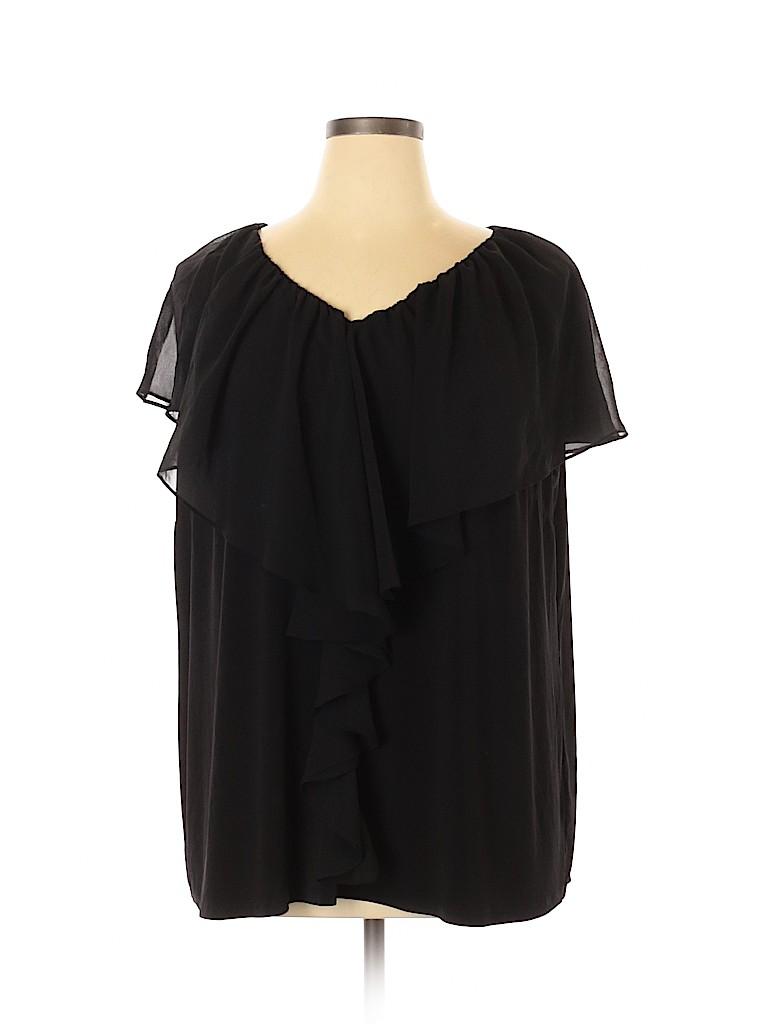 Cato Women Short Sleeve Blouse Size 22 - 24 Plus (Plus)