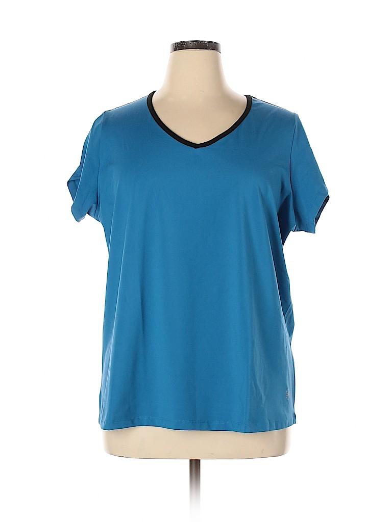 Fullbeauty Women Active T-Shirt Size 18 - 20 Plus (Plus)