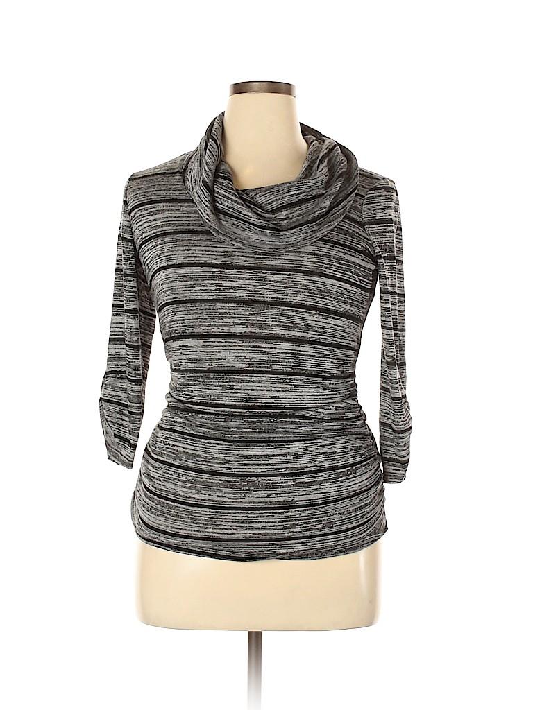 AB Studio Women 3/4 Sleeve Top Size L