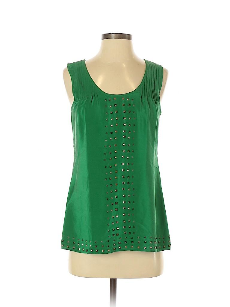 Madison Marcus Women Sleeveless Silk Top Size XS