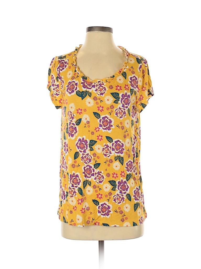 ModCloth Women Short Sleeve Top Size M