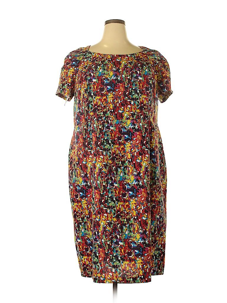 Roaman's Women Casual Dress Size 22 (Plus)