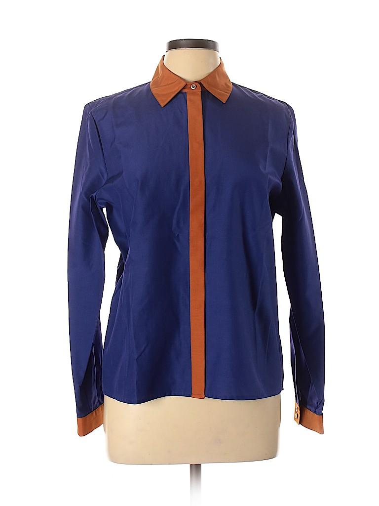 J. Peterman Women Long Sleeve Blouse Size 12