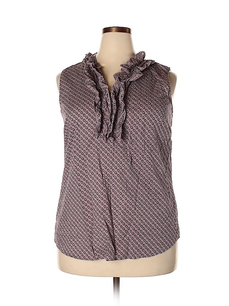 Merona Women Sleeveless Blouse Size XXL