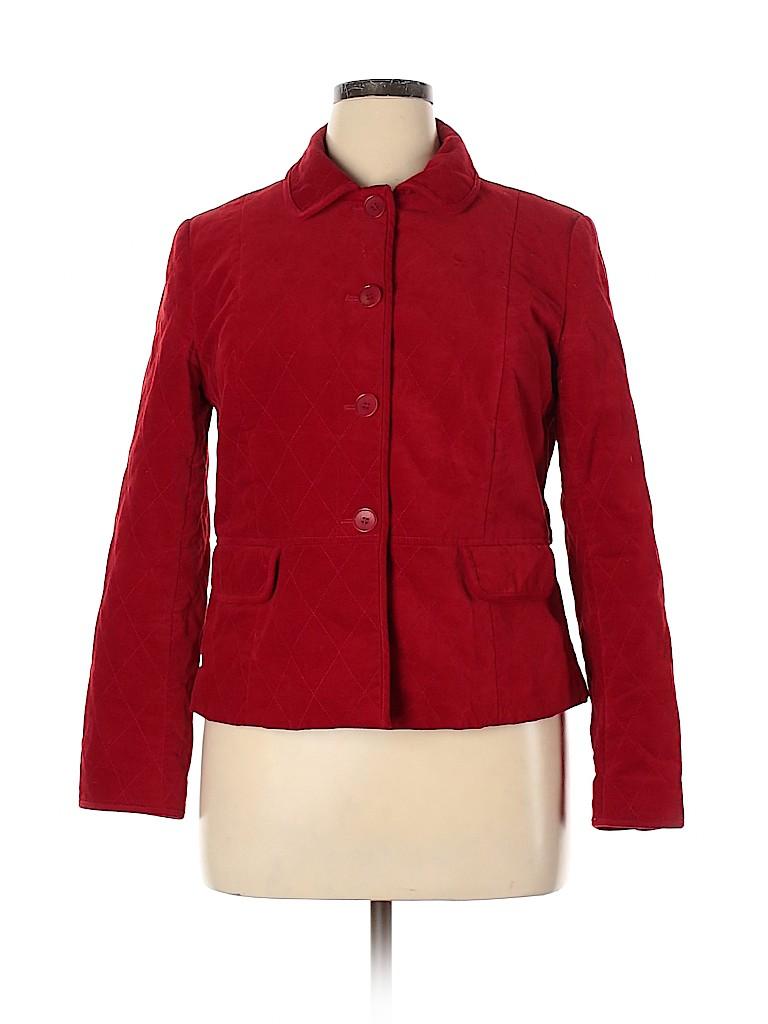 Talbots Women Jacket Size 14 (Petite)