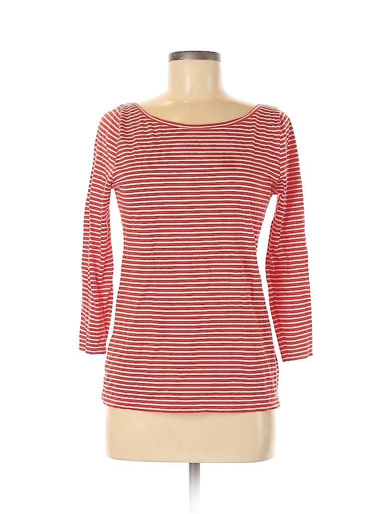 J. Crew Women 3/4 Sleeve T-Shirt Size M
