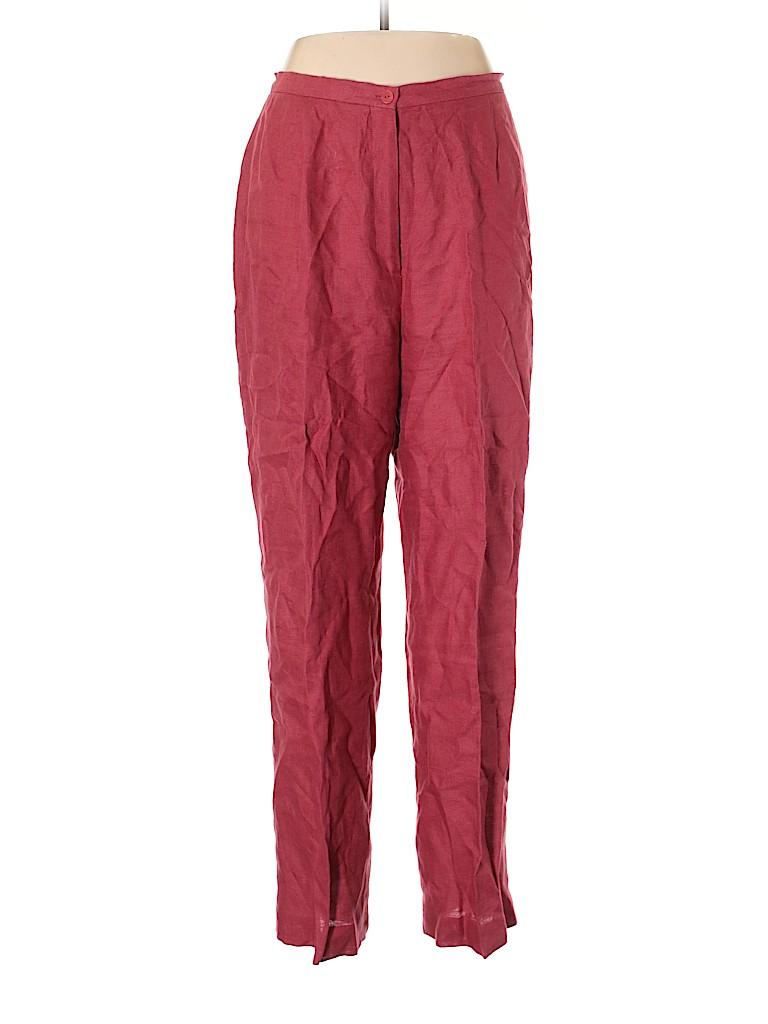 Style&Co Women Linen Pants Size 14
