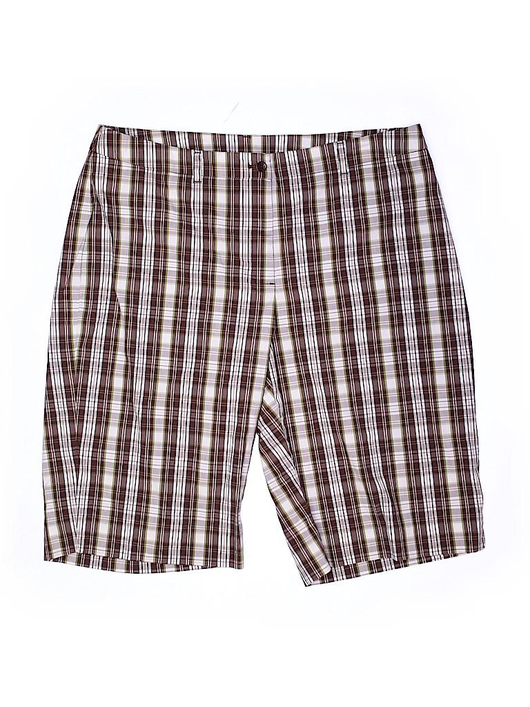 Jones New York Signature Women Shorts Size 16 (Plus)