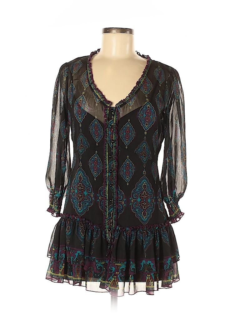 ECI Women 3/4 Sleeve Blouse Size 6