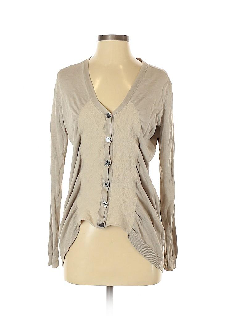 Zero + Maria Cornejo Women Wool Cardigan Size S