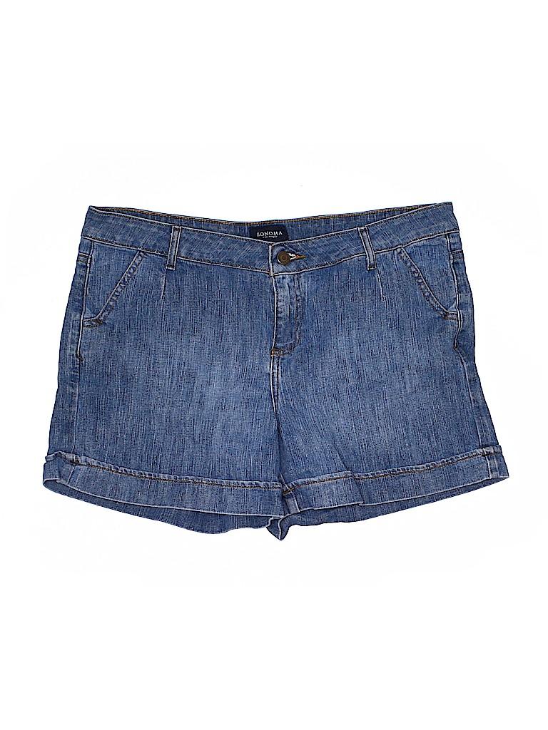 SONOMA life + style Women Denim Shorts Size 12