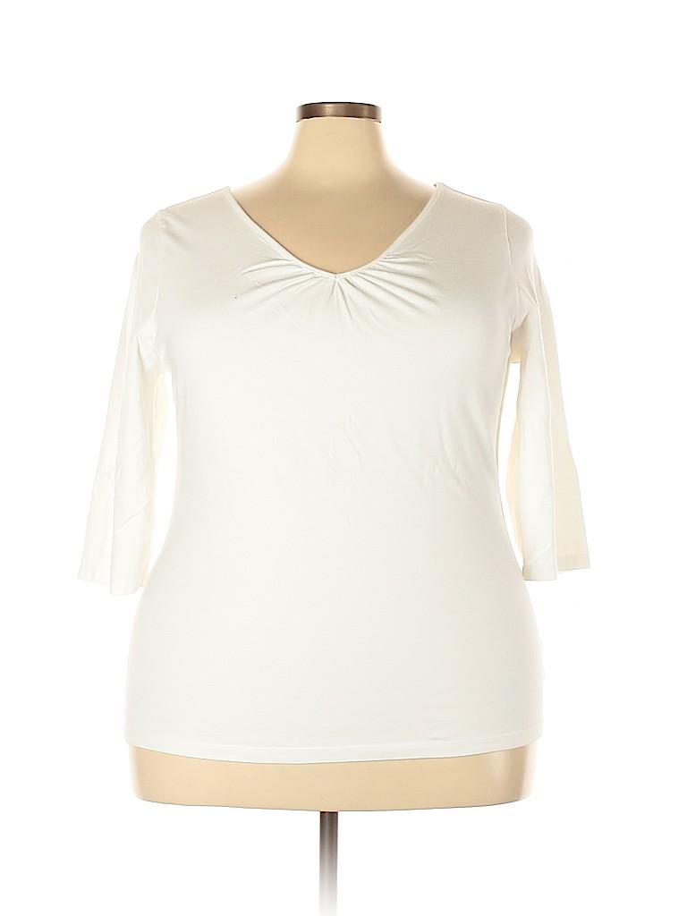 Venezia Women 3/4 Sleeve Top Size 18 - 20 Plus (Plus)