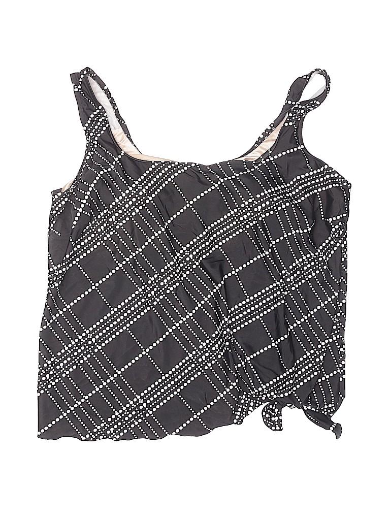 LE COVE Women Swimsuit Top Size 20W (Plus)
