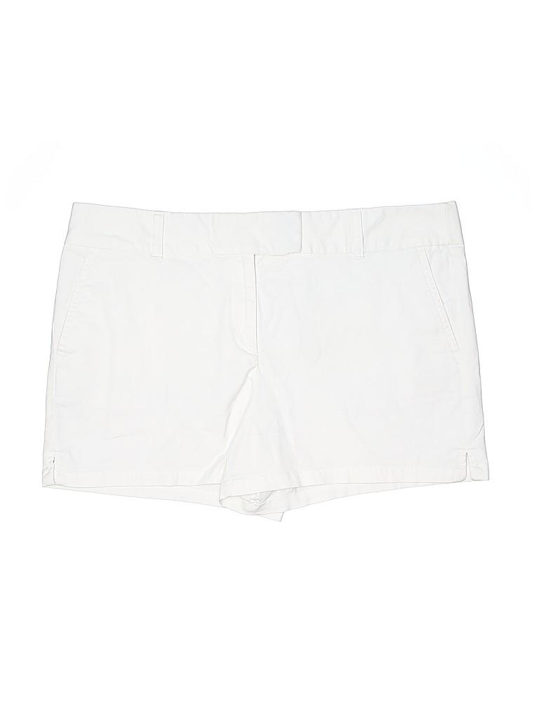 Ann Taylor LOFT Women Khaki Shorts Size 14
