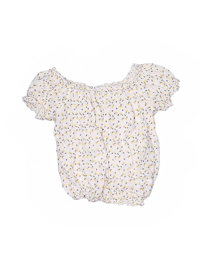 Primark Girls Short Sleeve Blouse Size 10 - 12