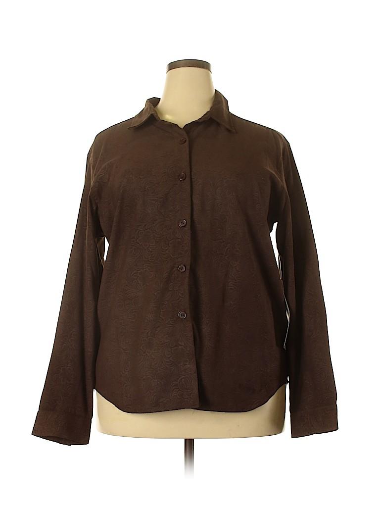 Original TY Wear Women Long Sleeve Blouse Size 18 (Plus)