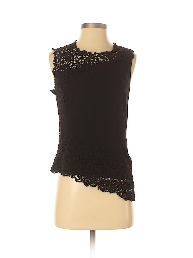 Elie Tahari Women Sleeveless Blouse Size S