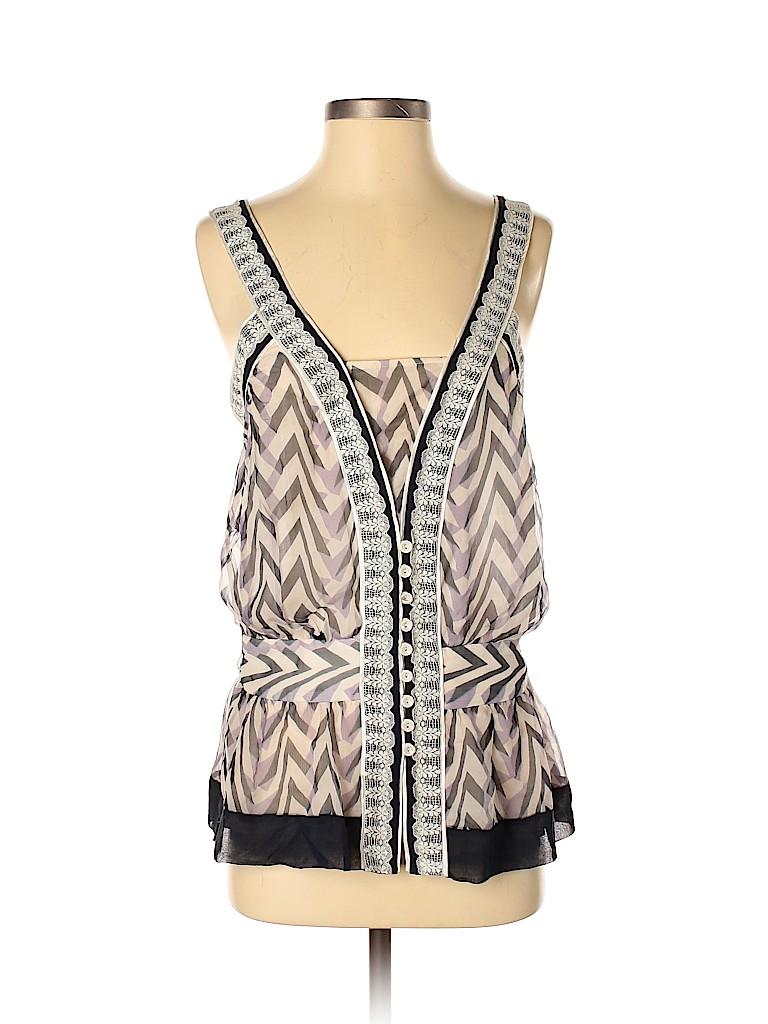Development By Erica Davies Women Sleeveless Silk Top Size 2