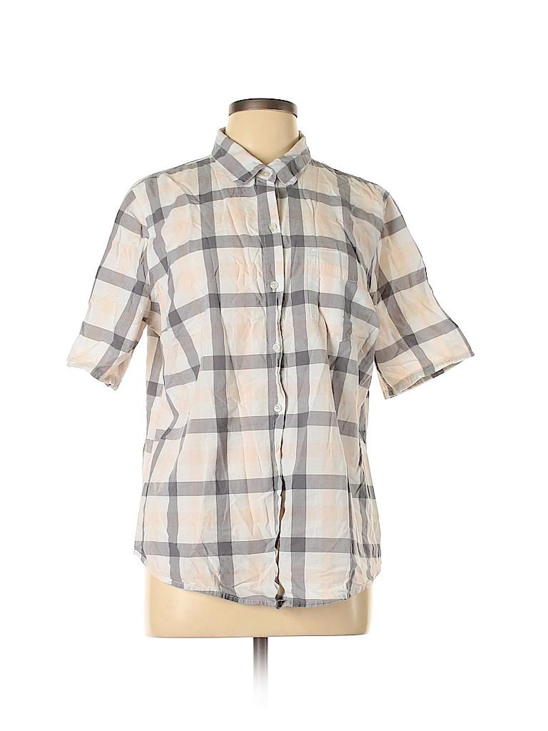 Old Navy Women Short Sleeve Button-Down Shirt Size XL