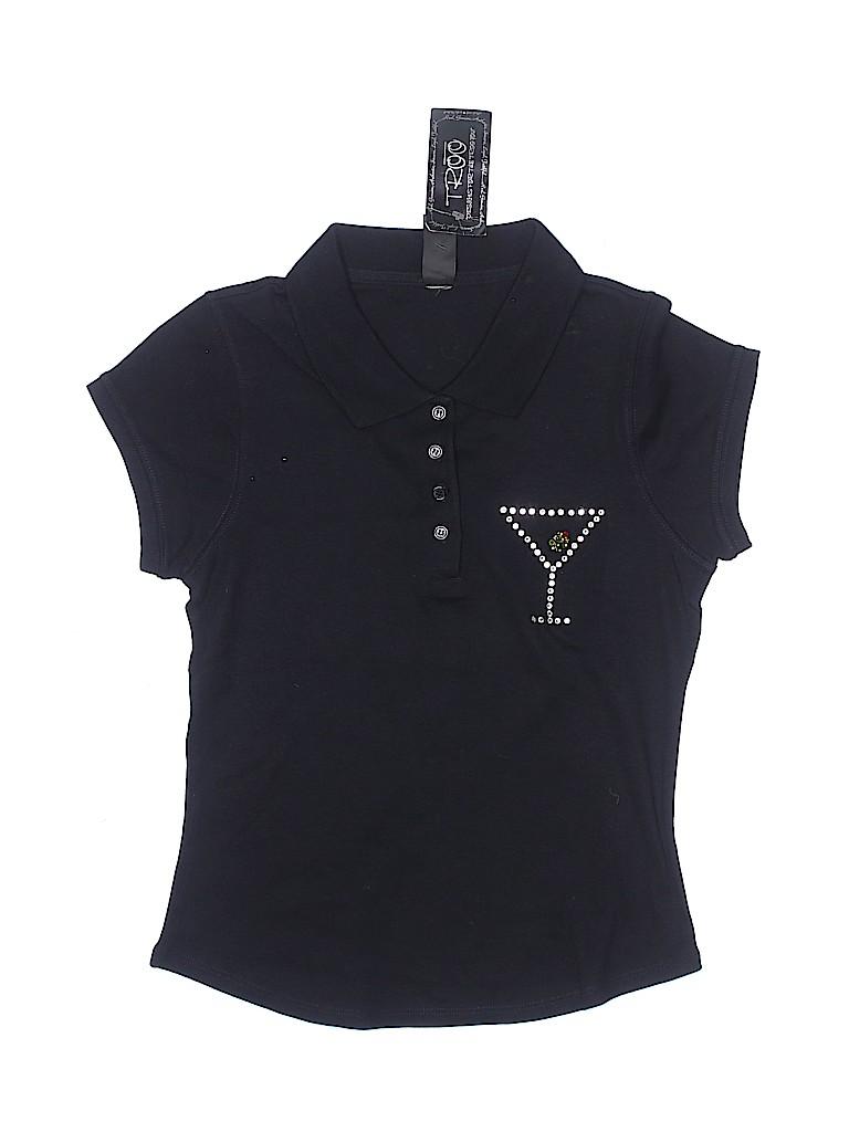 Troo Girls Short Sleeve Polo Size M (Kids)