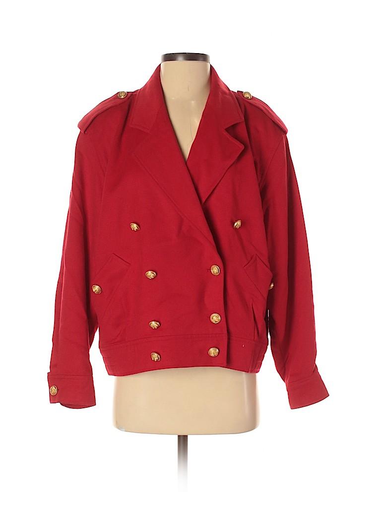 Burberry Women Wool Coat Size 40 (IT)