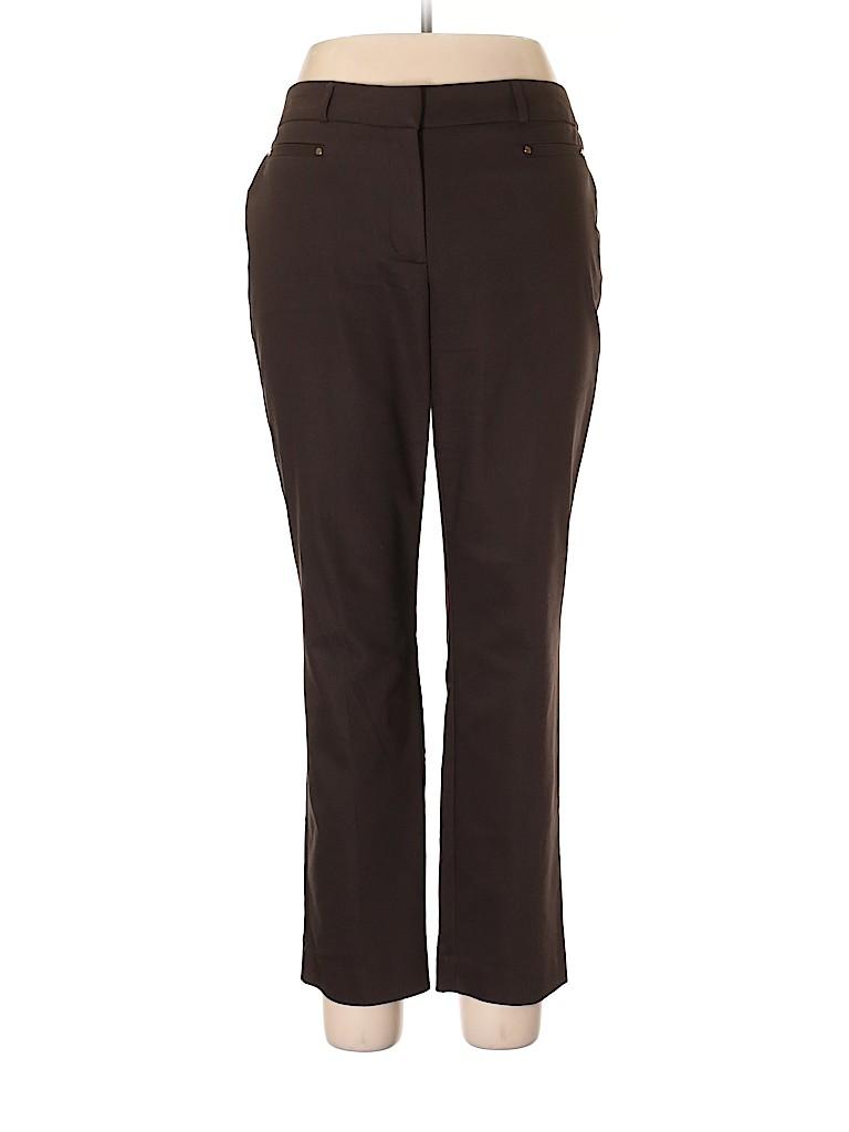 JM Collection Women Dress Pants Size 14 (Petite)