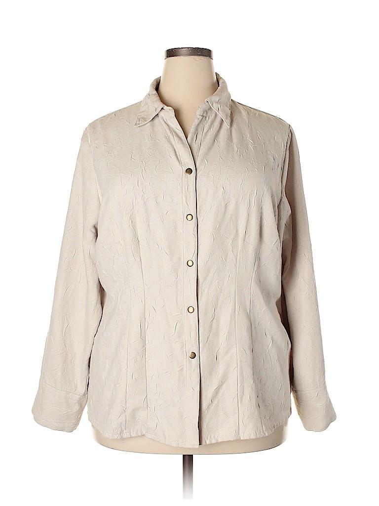 Cato Women Long Sleeve Blouse Size 20 (Plus)