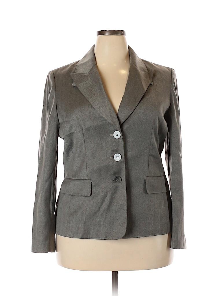 Kasper Women Blazer Size 18 (Plus)