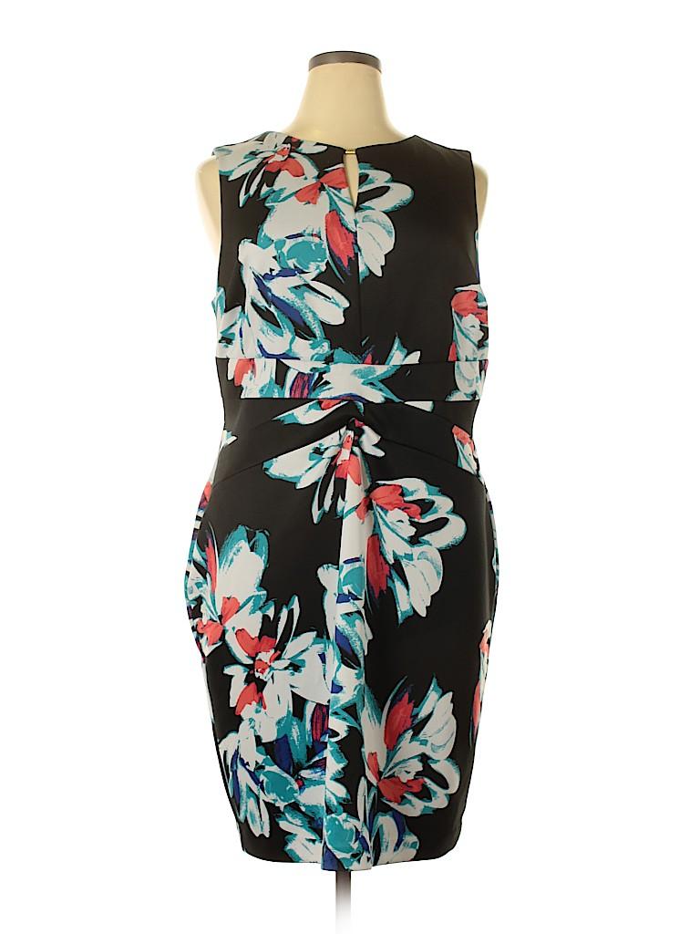Ellen Tracy Women Casual Dress Size 16w