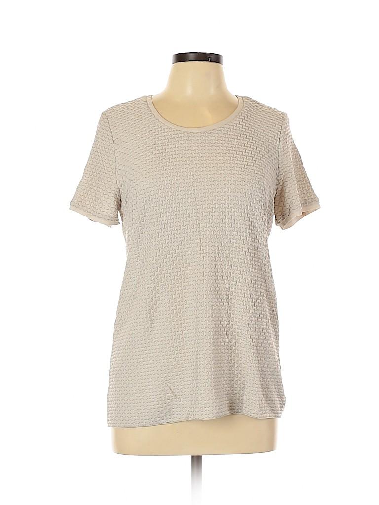 Armani Collezioni Women Short Sleeve Top Size 14