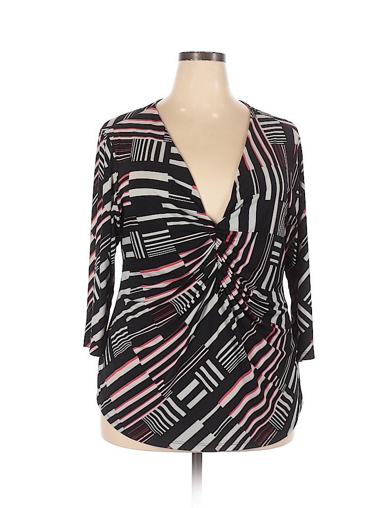 IGIGI Women Short Sleeve Top Size 18 - 20 Plus (Plus)