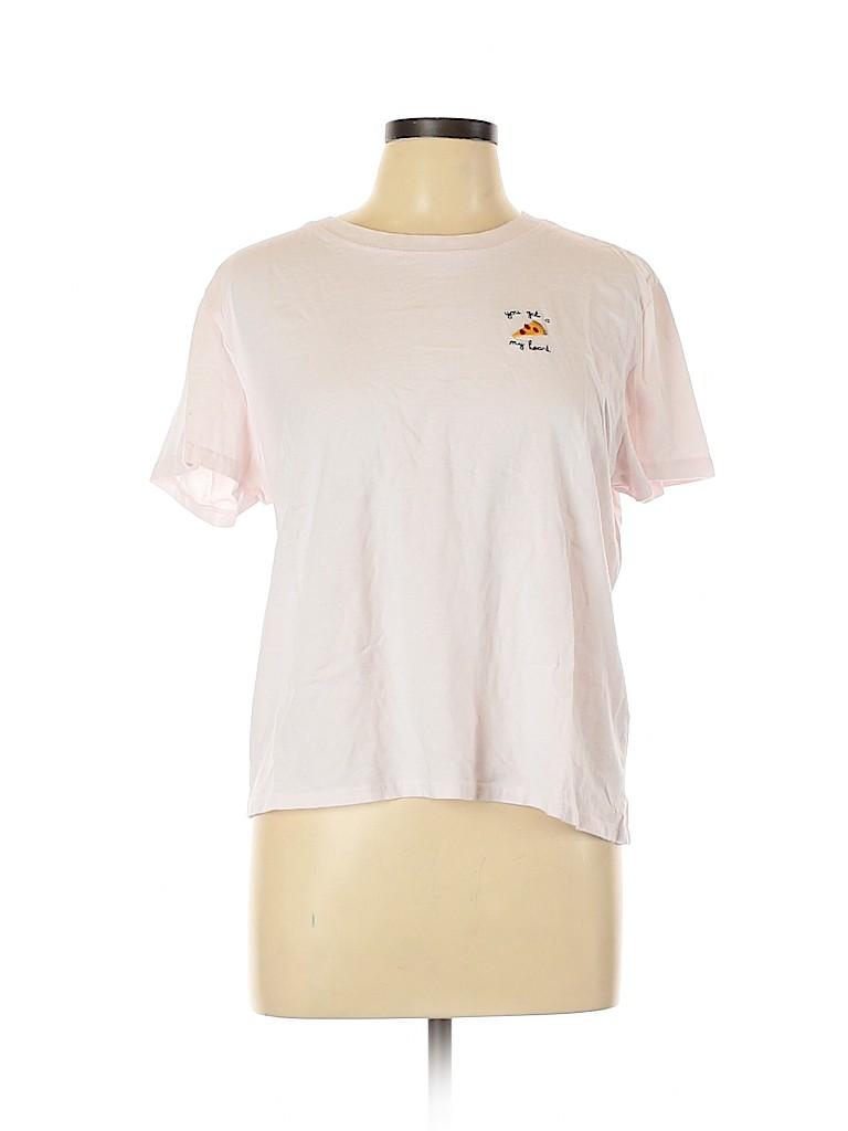 Topshop Women Short Sleeve T-Shirt Size 14