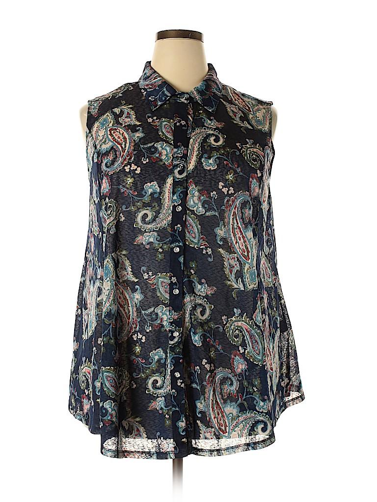 Avenue Women Sleeveless Blouse Size 18 - 20 Plus (Plus)