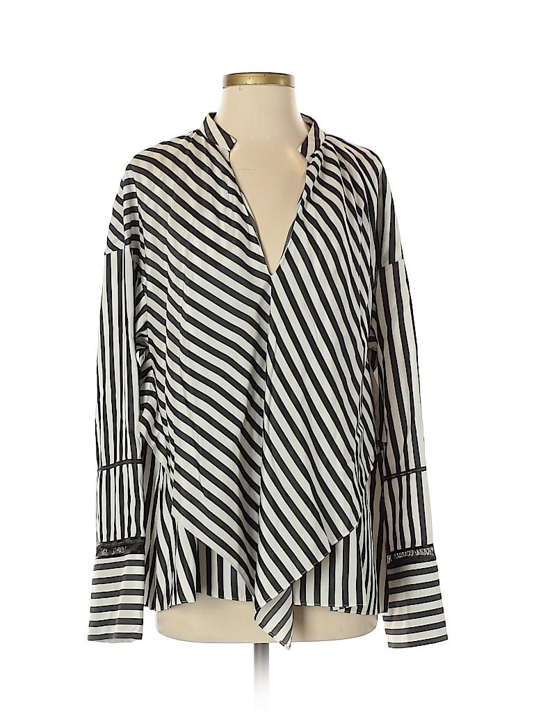 Derek Lam Women Long Sleeve Silk Top Size 6