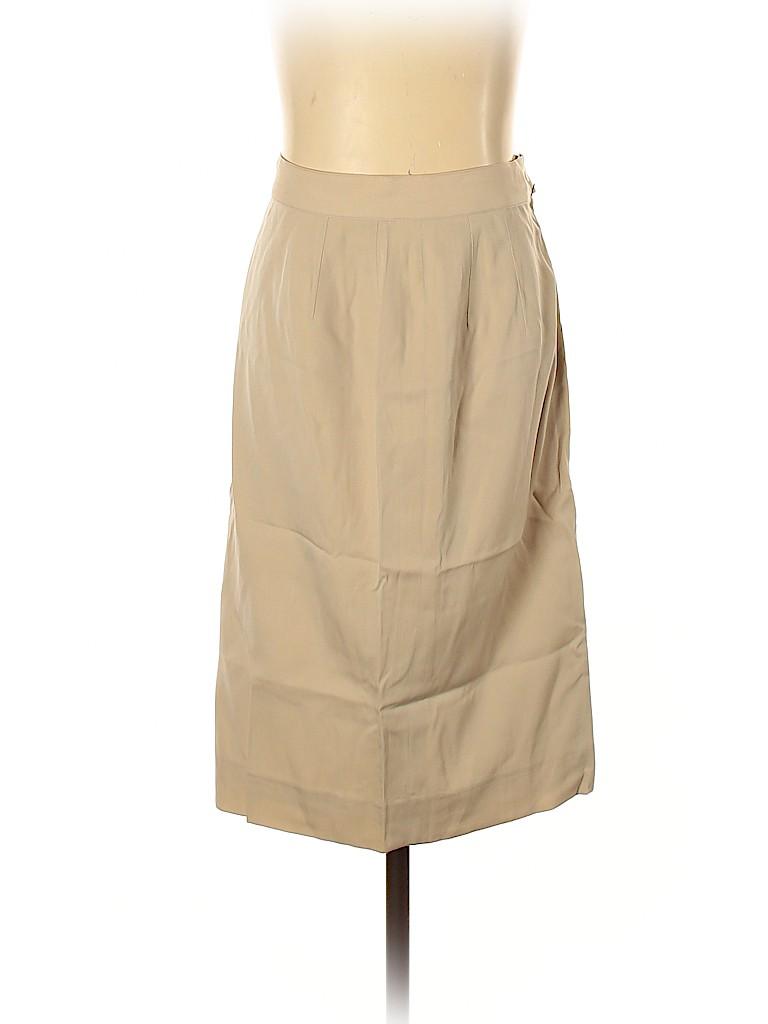 Salvatore Ferragamo Women Wool Skirt Size 6