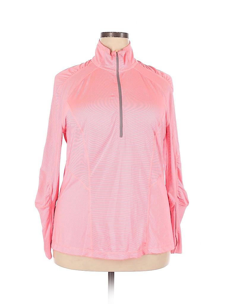 Zella Women Track Jacket Size 1X (Plus)