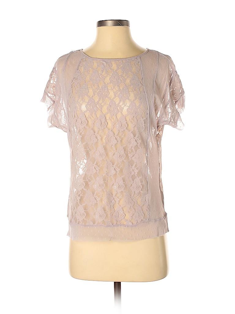 Frenchi Women Short Sleeve Top Size XS